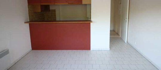 louer un appartement vide
